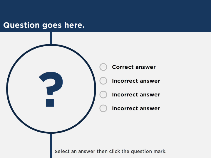 Quiz slide