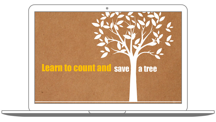 Learn to Count and Save a Tree