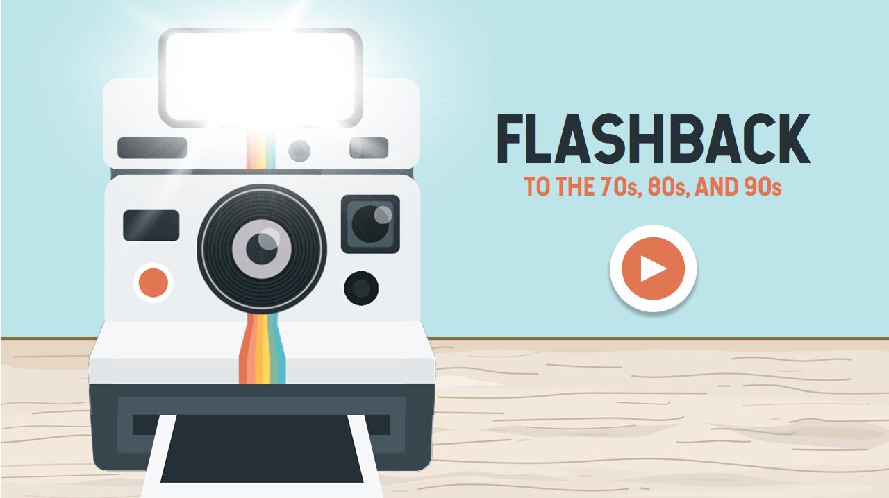 flashcard flashback 70s 80s 90s