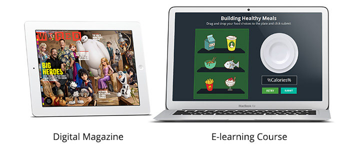 Digital Magazines for Learning