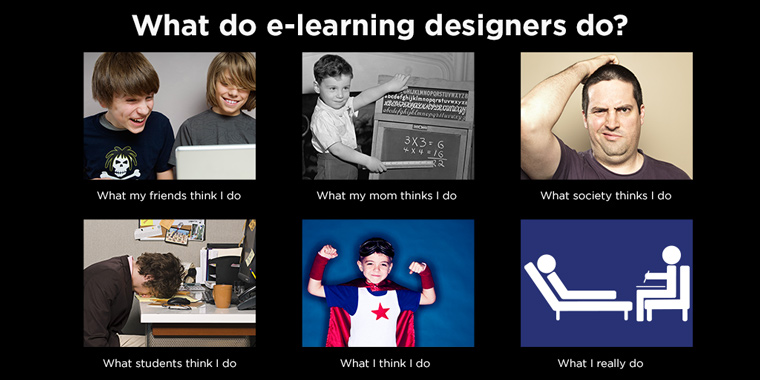 What do elearning designers really do?