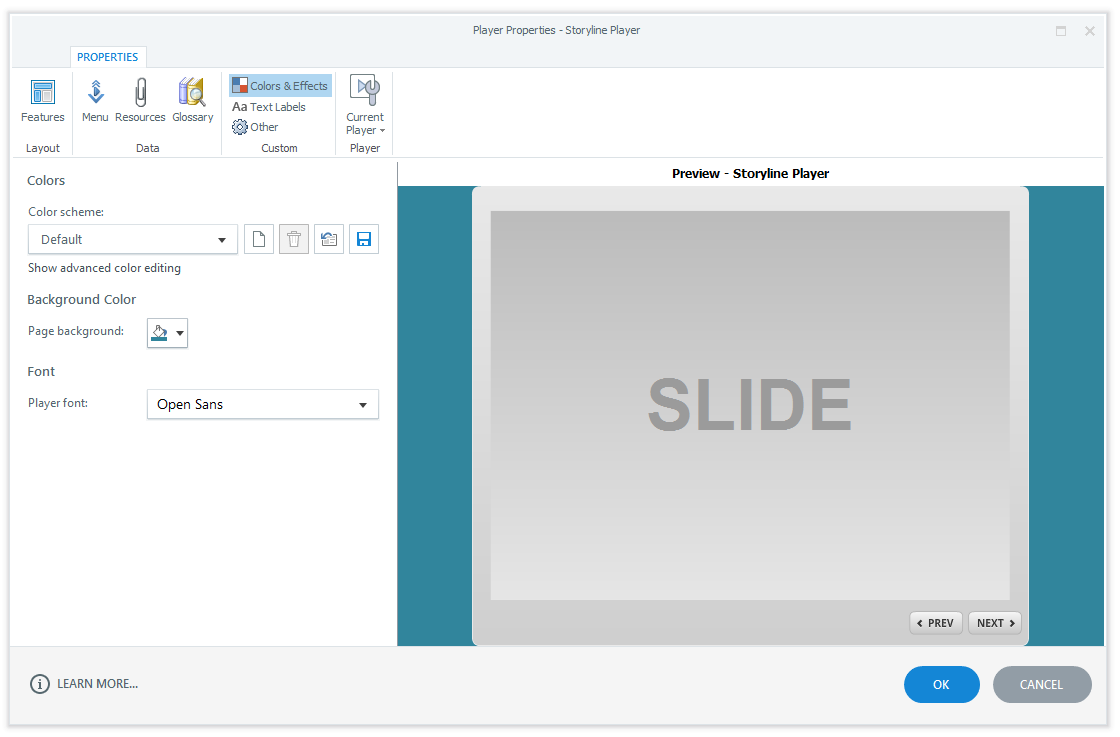 Make the Articulate Storyline Player Invisible