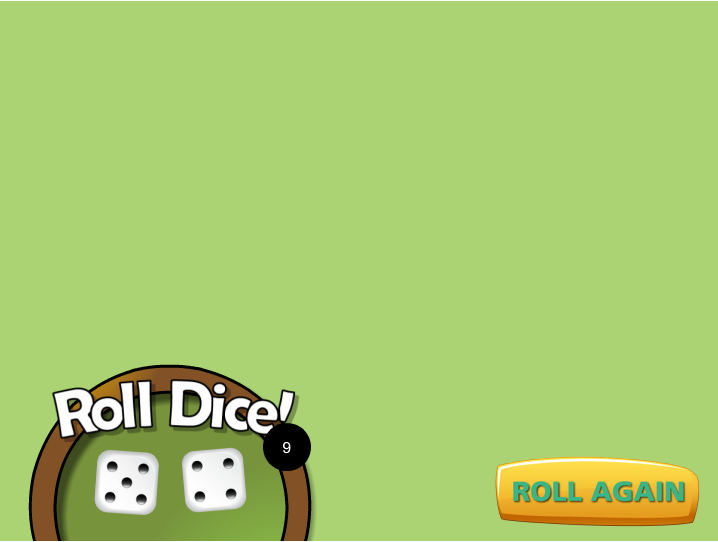 Freebie: dice roll animation using javascript - Building