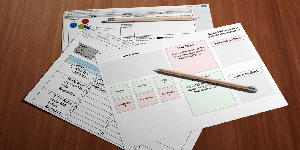 Storyboard Templates for E-Learning