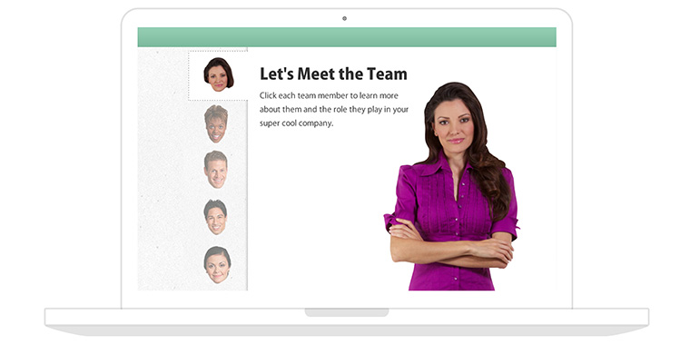 Meet the Team People Tabs for Articulate Storyline