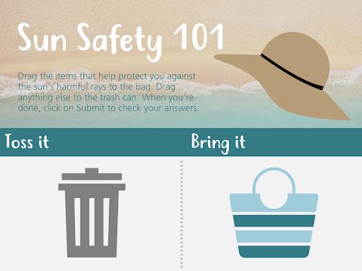 Sun Safety More Interactive