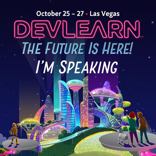 DevLearn 2017 Speaker Badge