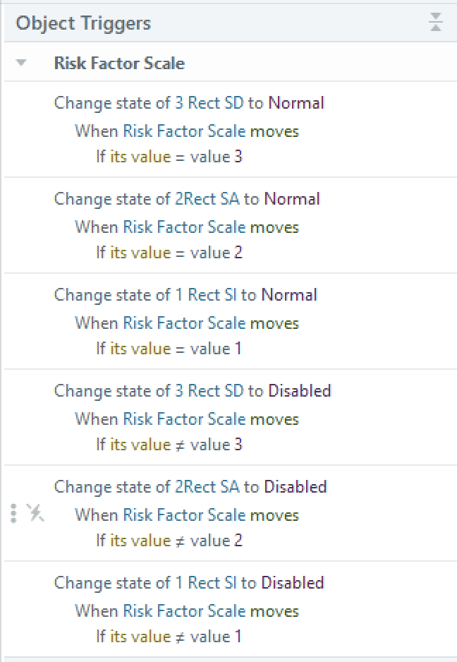 change state triggers