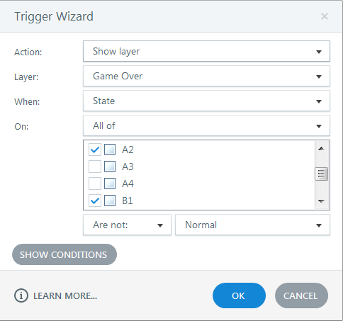 Show Layer Trigger