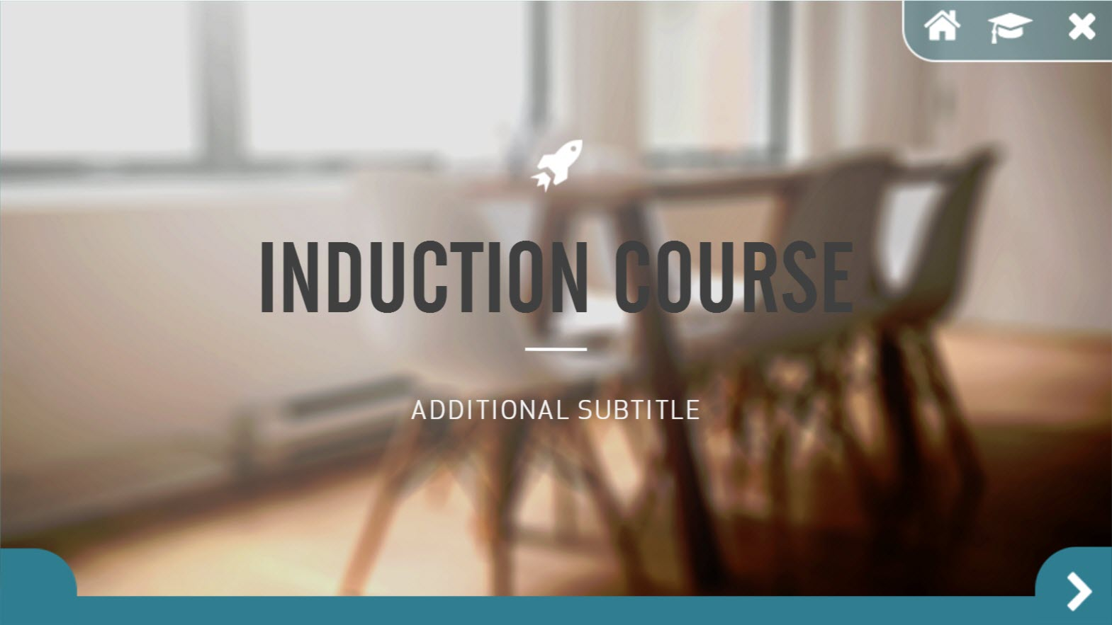 Induction Course SL360 template