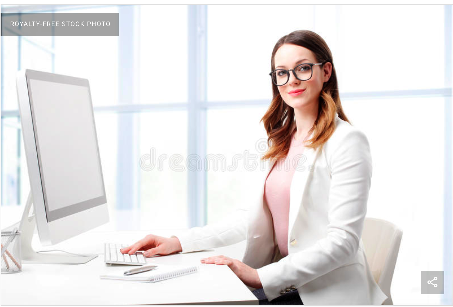 Dreamstime Example of a model office setting