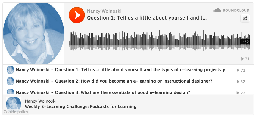 Nancy Woinoski podcast