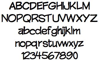 rickhills font