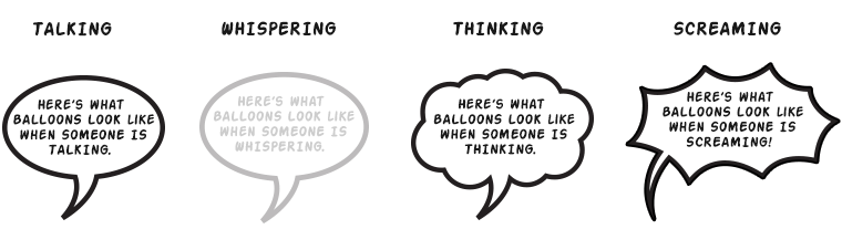 Grammar Guide to Speech Balloons