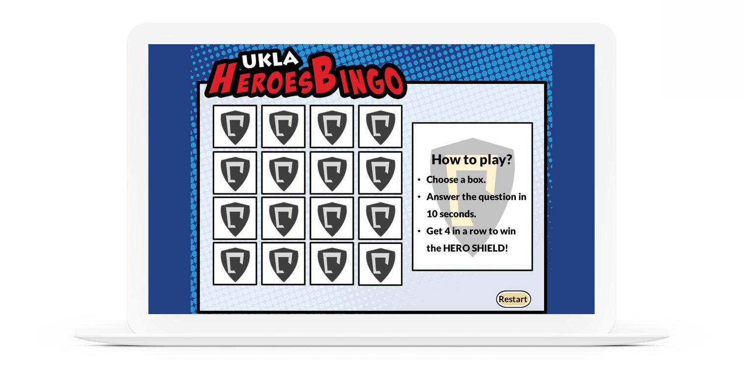 Ridvan Saglam Bingo E-Learning