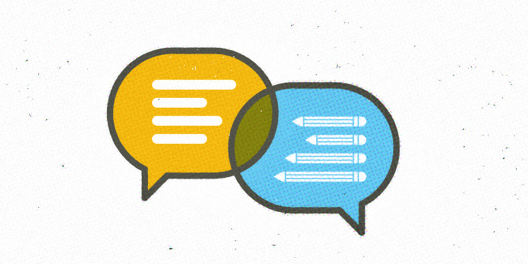 e-learning collaboration with graphic designers