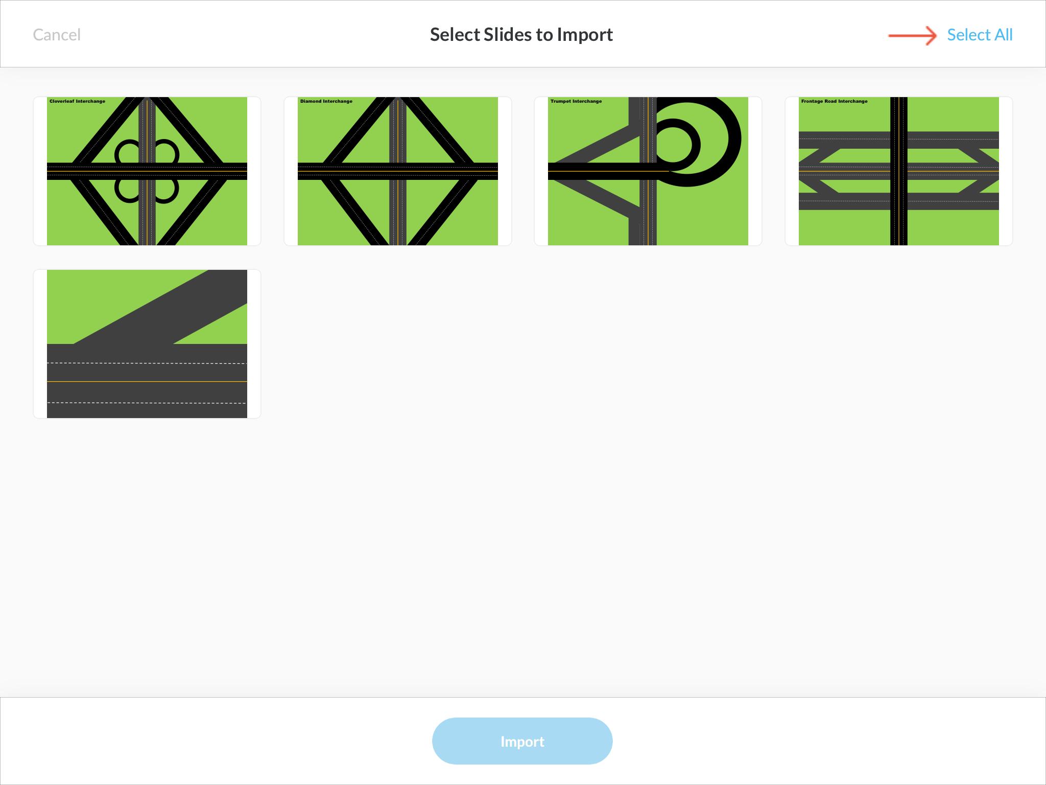 Step 2: Select Slides