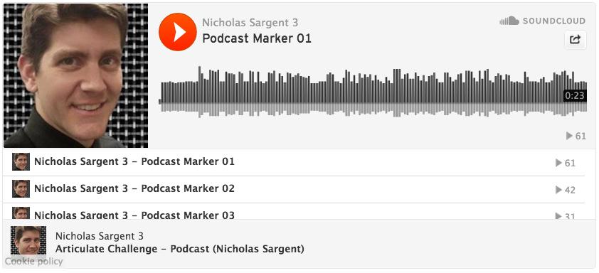Nicholas Sargent podcast