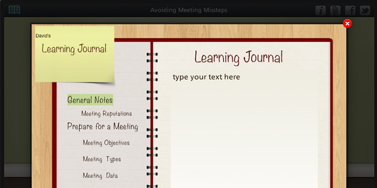 Example of Learning Journals in E-Learning